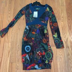 Desigual longsleeve dress